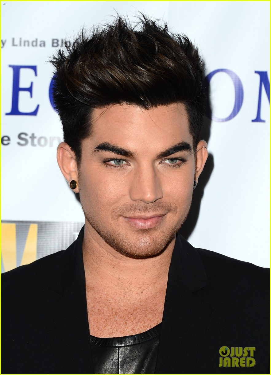 adam lambert nikki reed bridegroom premiere 082972827