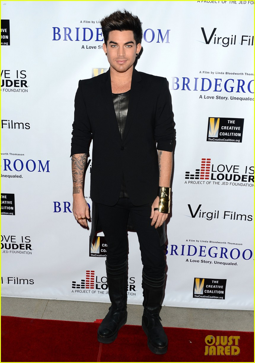 adam lambert nikki reed bridegroom premiere 102972829