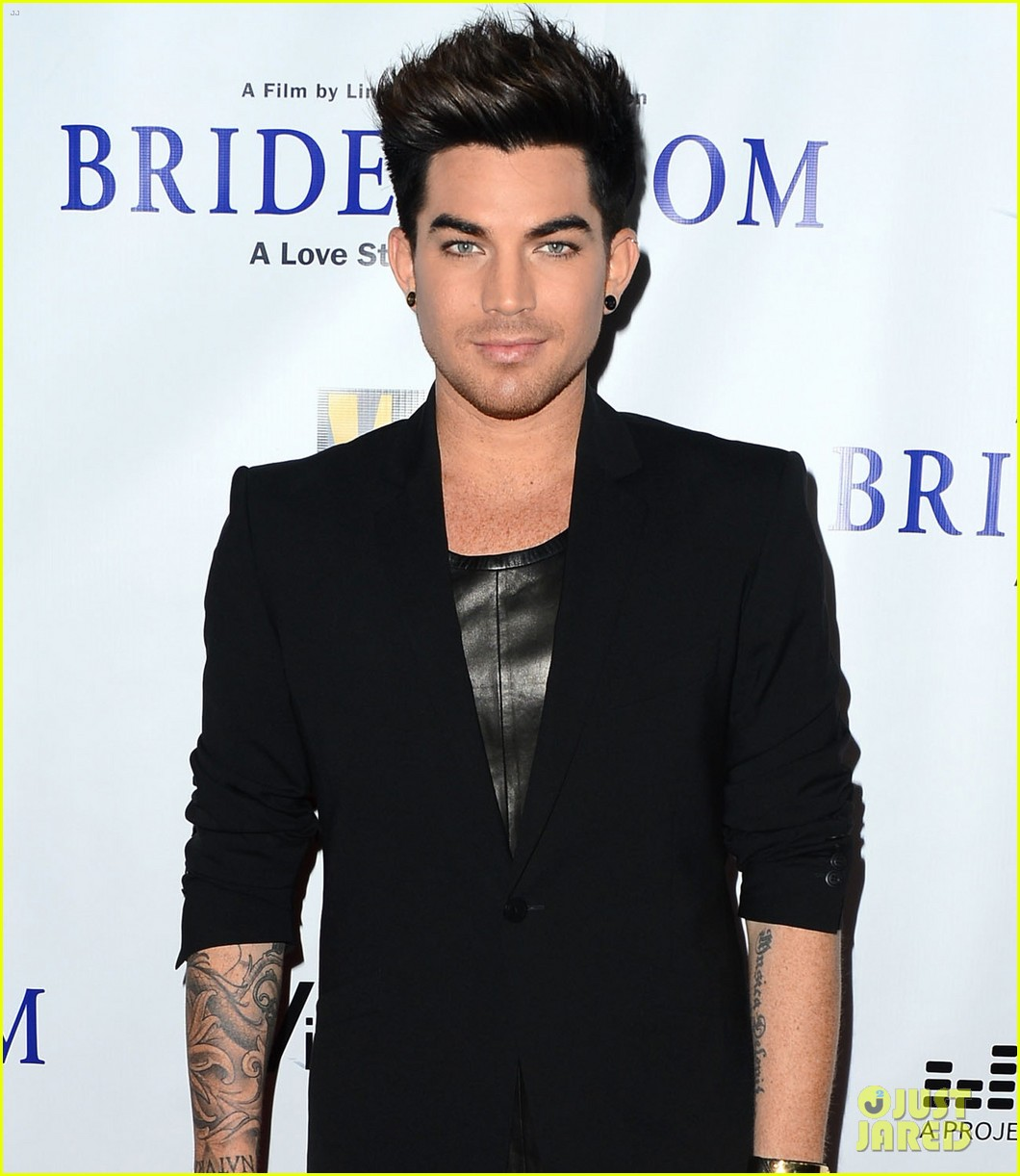 adam lambert nikki reed bridegroom premiere 22