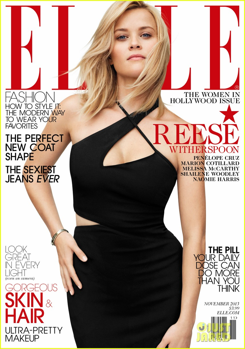 reese witherspoon covers elle november 2013 072969573
