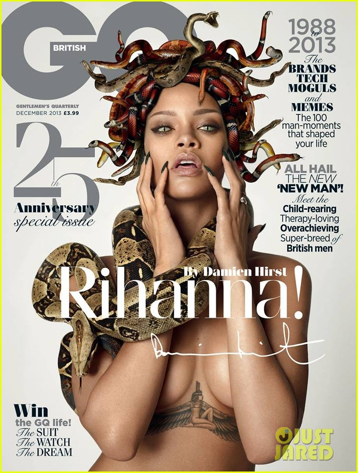 rihanna topless medusa for british gq november 2013 01