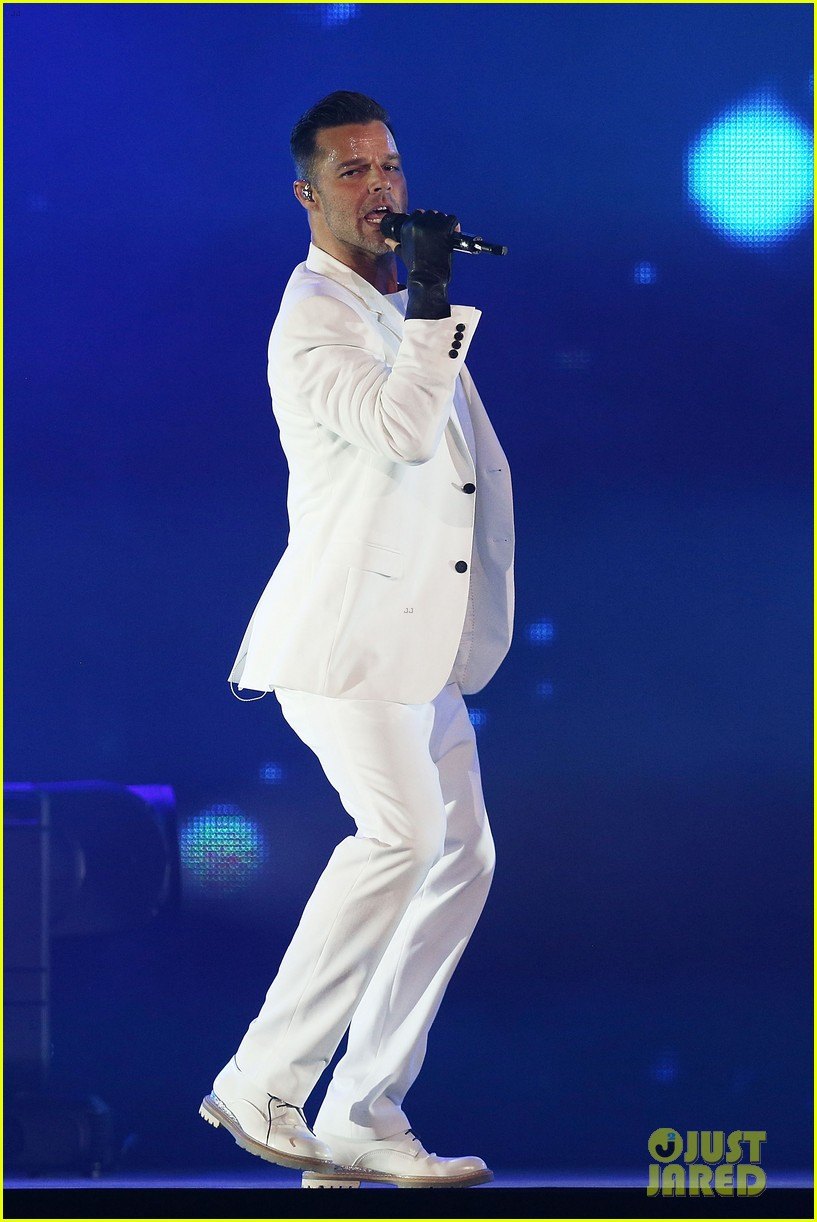 ricky martin hits the stage in australia 022966736