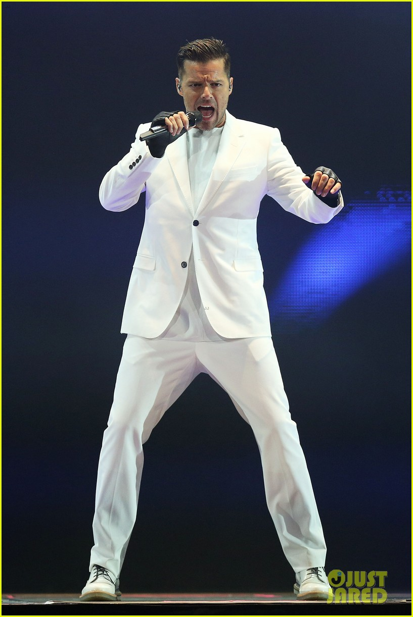 ricky martin hits the stage in australia 092966743