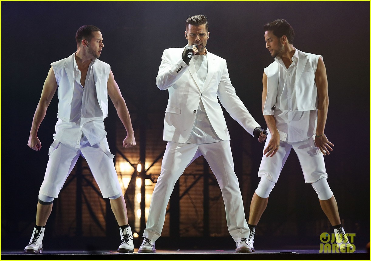ricky martin hits the stage in australia 102966744