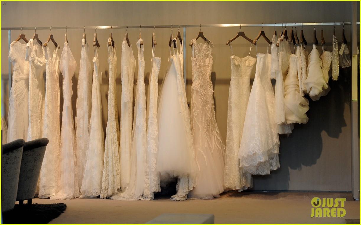 naya rivera goes wedding dress shopping with kevin mchale 132970795