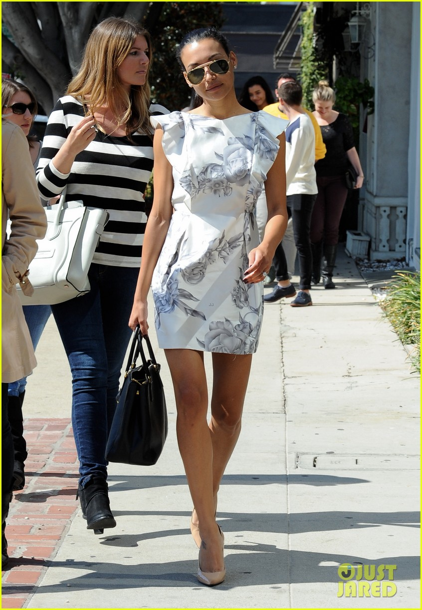 naya rivera goes wedding dress shopping with kevin mchale 212970803