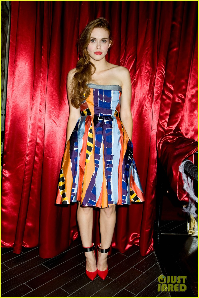 holland roden teen wolf cast just jared halloween party 2013 042979333