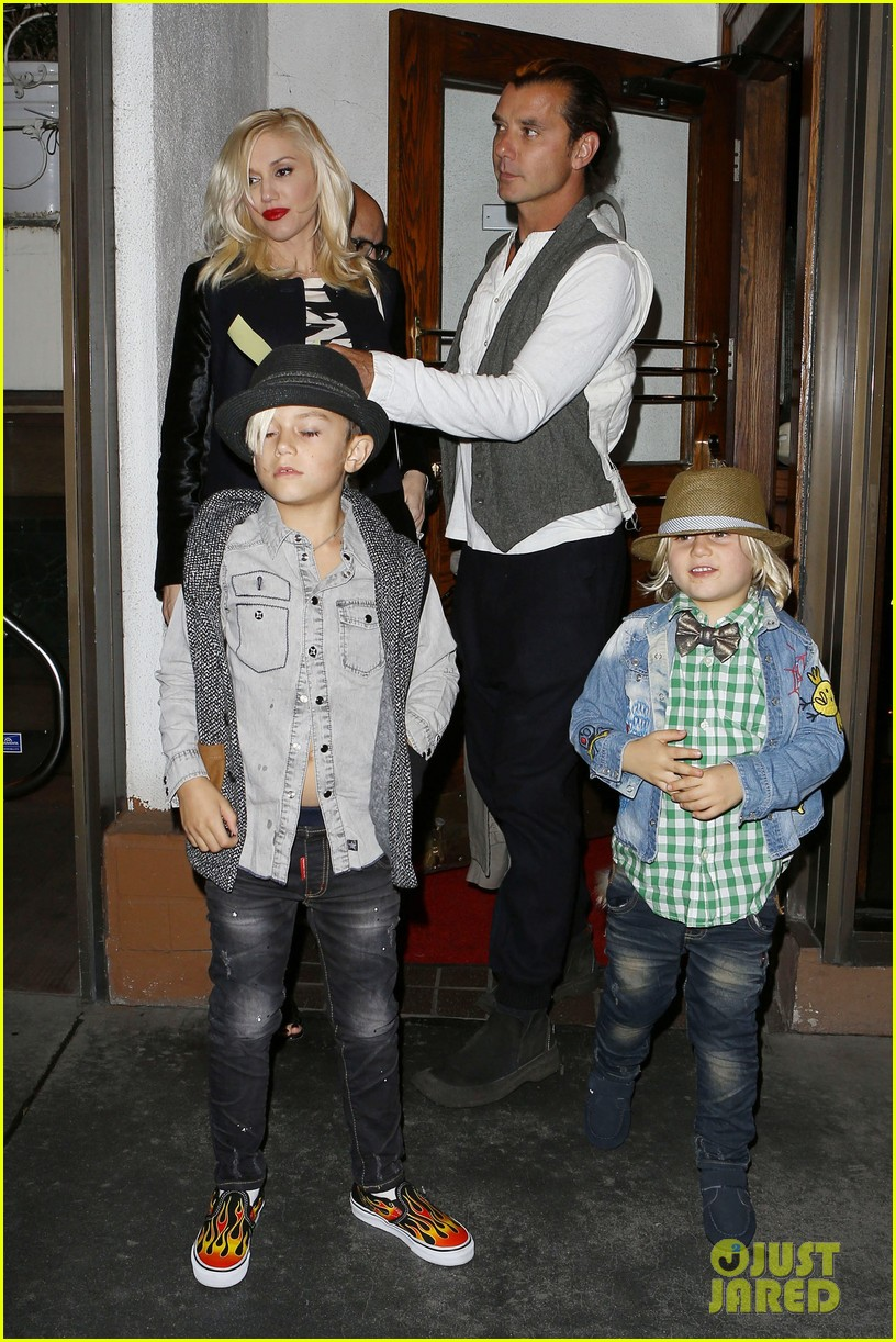 gavin rossdale celebrates birthday with gwen stefani kids 012983184