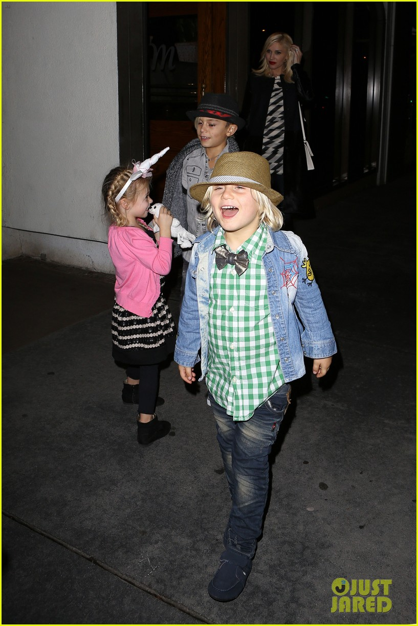 gavin rossdale celebrates birthday with gwen stefani kids 14
