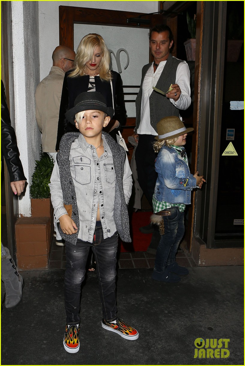 gavin rossdale celebrates birthday with gwen stefani kids 162983199