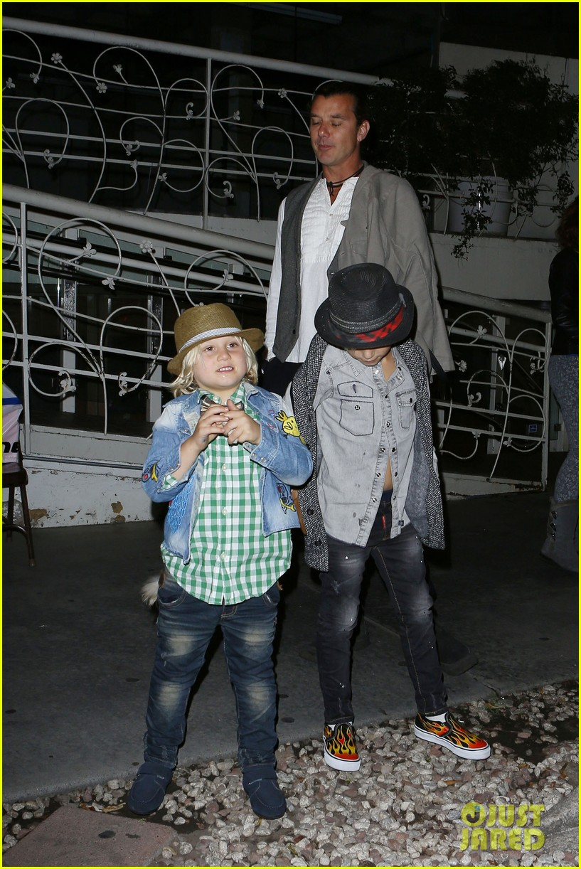 gavin rossdale celebrates birthday with gwen stefani kids 19