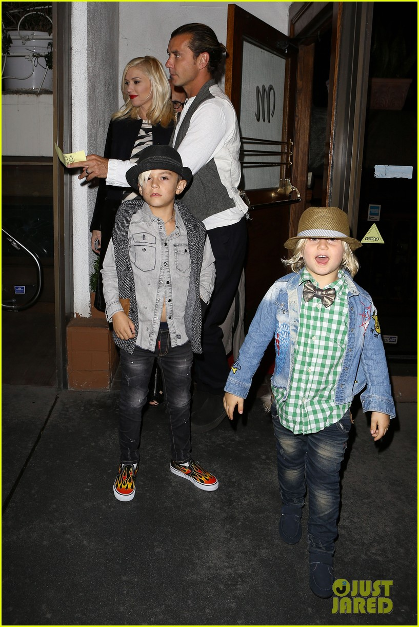 gavin rossdale celebrates birthday with gwen stefani kids 242983207