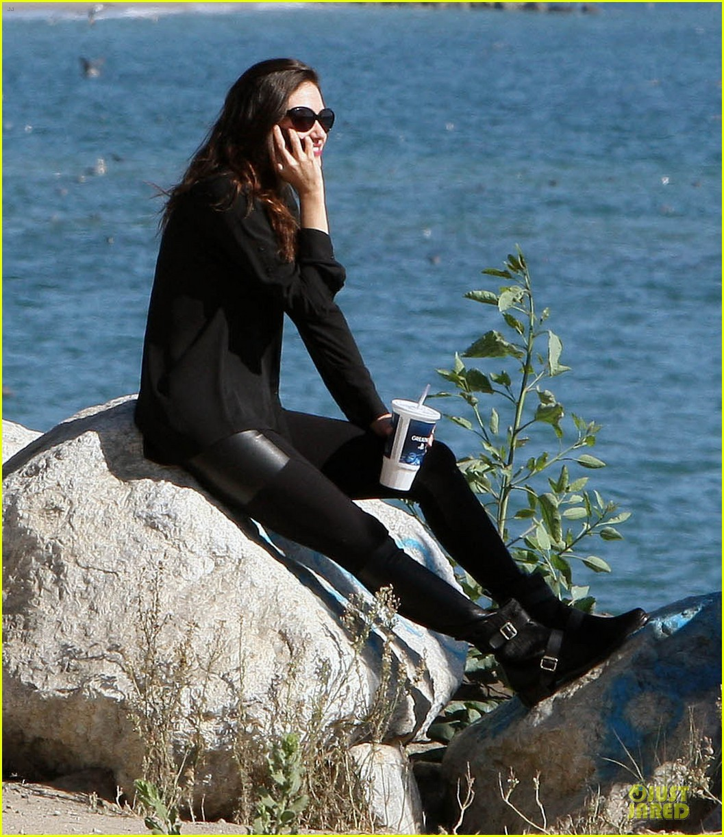 emmy rossum moment of peace at the beach 032969254