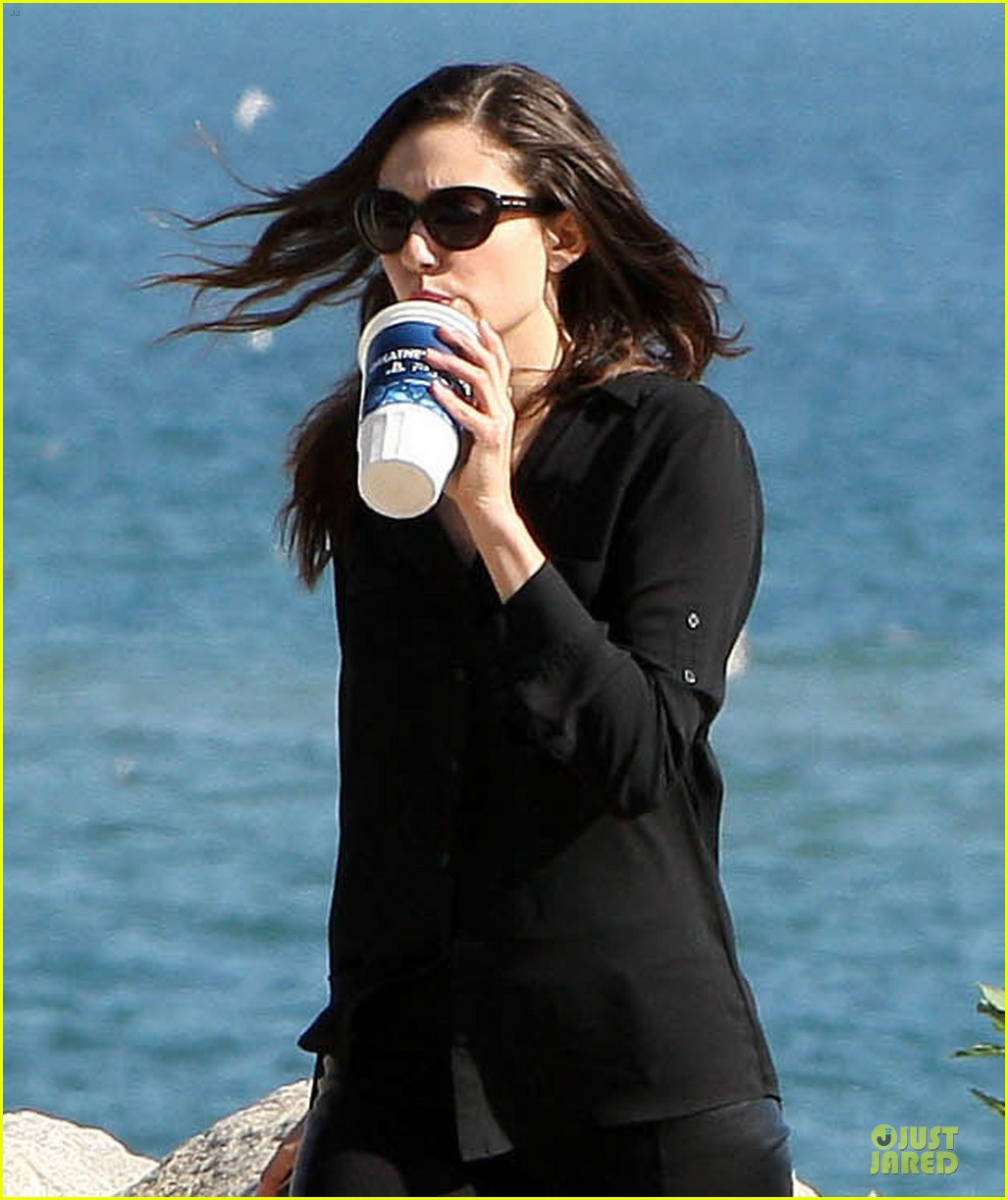 emmy rossum moment of peace at the beach 042969255