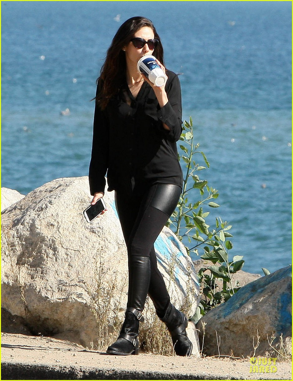 emmy rossum moment of peace at the beach 222969273