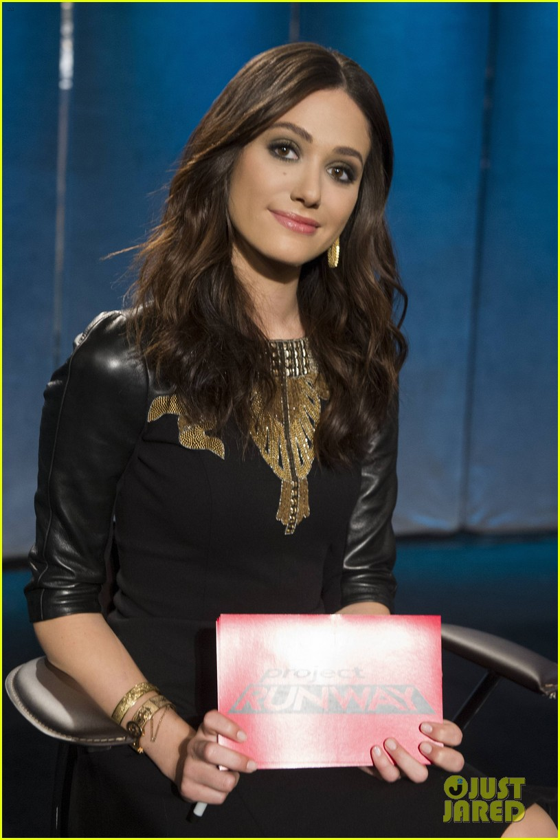 emmy rossum on project runway behind the scenes look 022964594