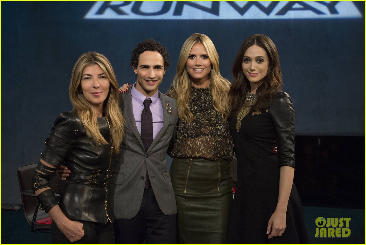emmy rossum on project runway behind the scenes look 042964596