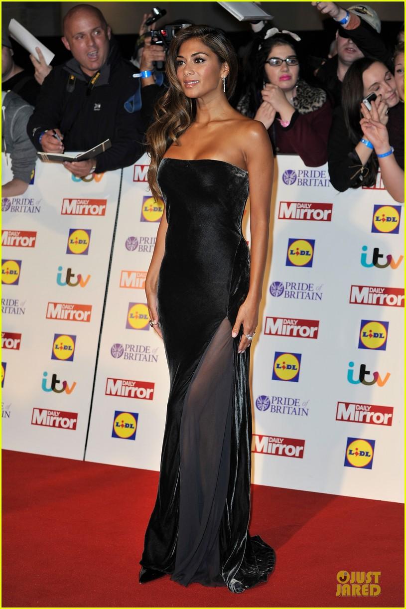 nicole scherzinger sheer dress at pride of britain awards 032968002