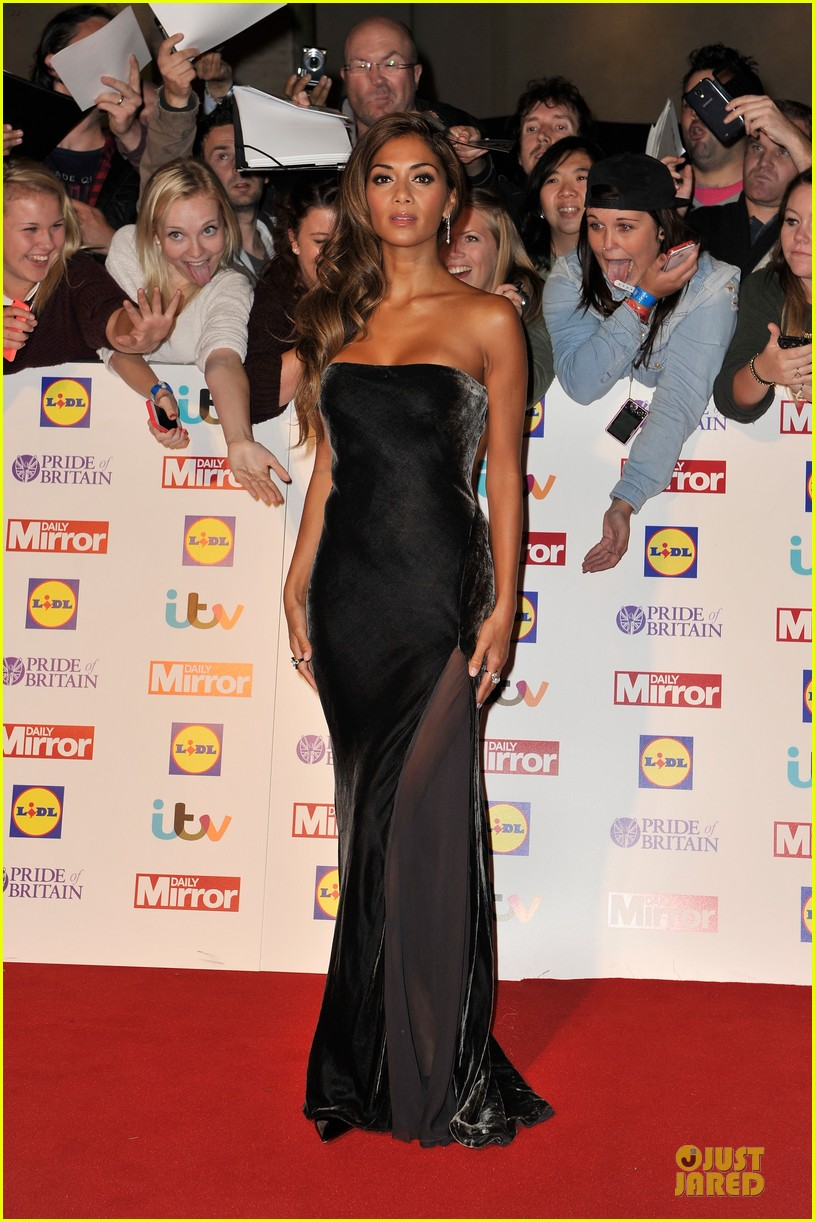 nicole scherzinger sheer dress at pride of britain awards 062968005