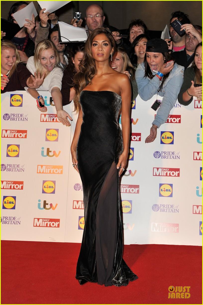nicole scherzinger sheer dress at pride of britain awards 06