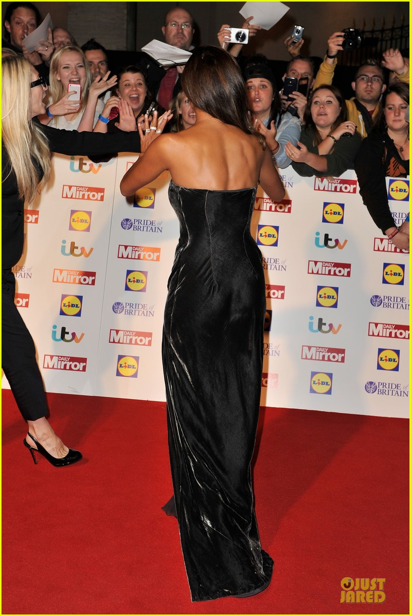 nicole scherzinger sheer dress at pride of britain awards 072968006