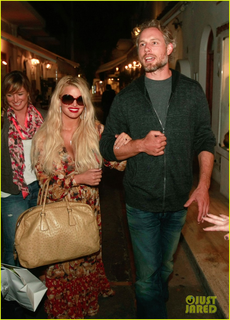 jessica simpson eric johnson in capri prepping wedding 062973233