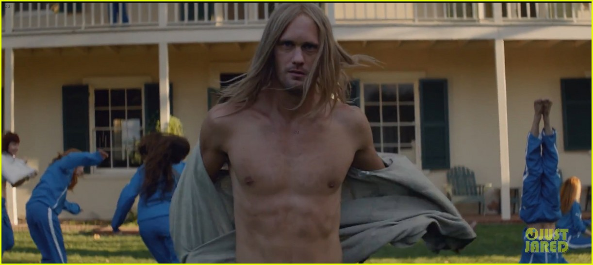 alexander skarsgard shirtless for cut copy free your mind 032969920