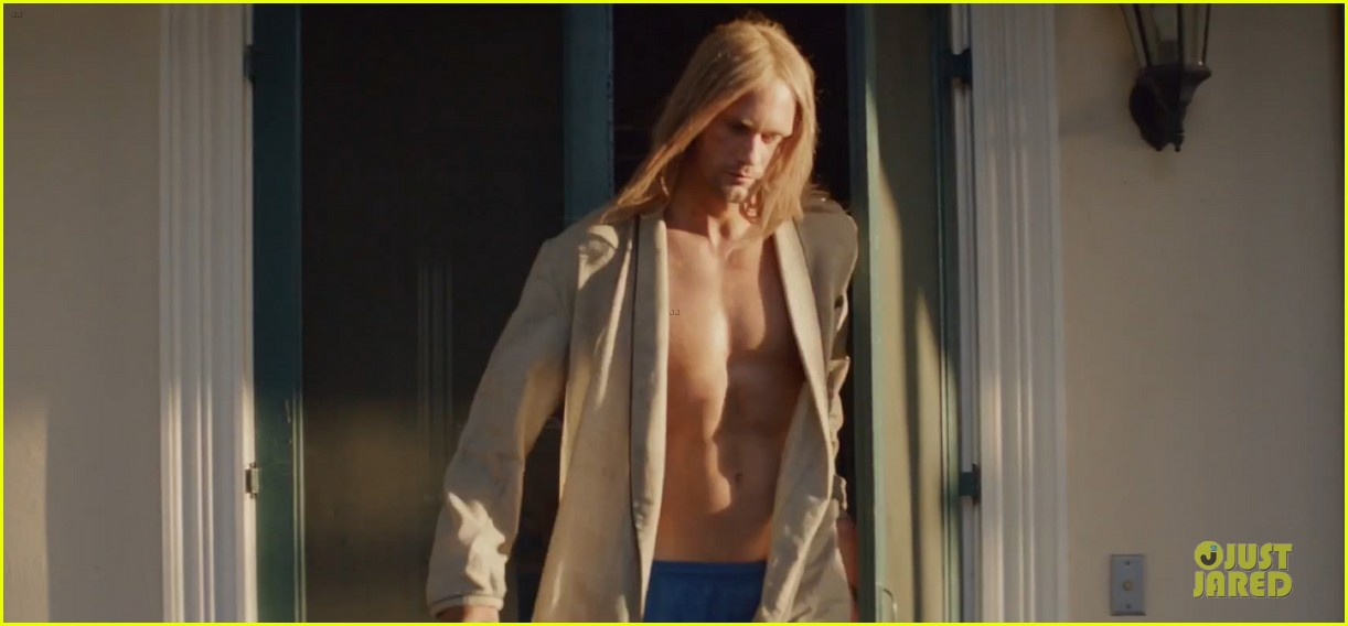 alexander skarsgard shirtless for cut copy free your mind 04