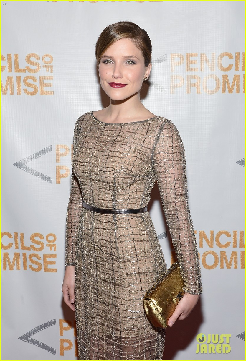 sophia bush serinda swan pencils of promise gala 2013 112978628