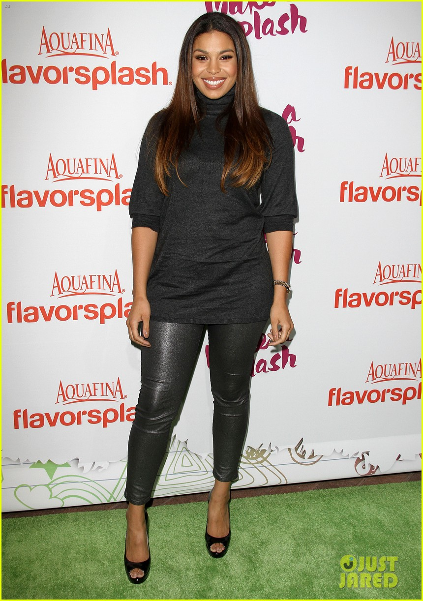 jordin sparks kat graham aquafinas flavorsplash launch 07