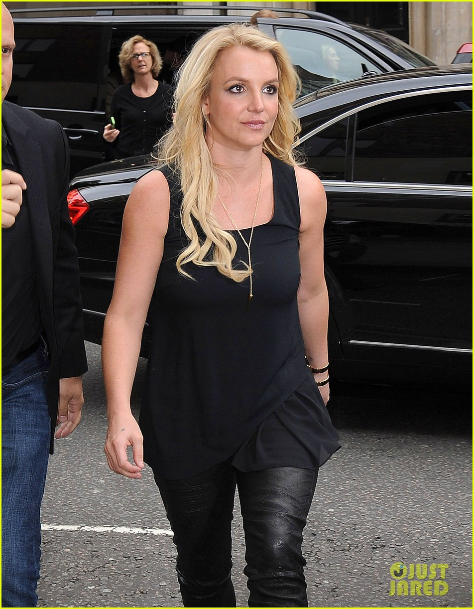 britney spears makes capital fm radio appearance in london 062971621