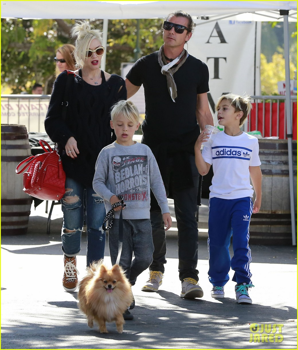 gwen stefani gavin rossdale lake arrowhead with the kids 022972265