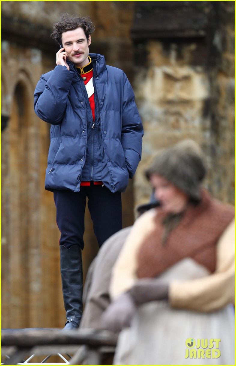 tom sturridge juno temple far from the madding crowd filming 132977656