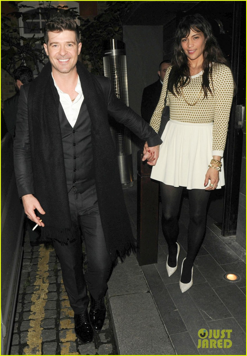 robin thicke london night out with paula patton 052976371