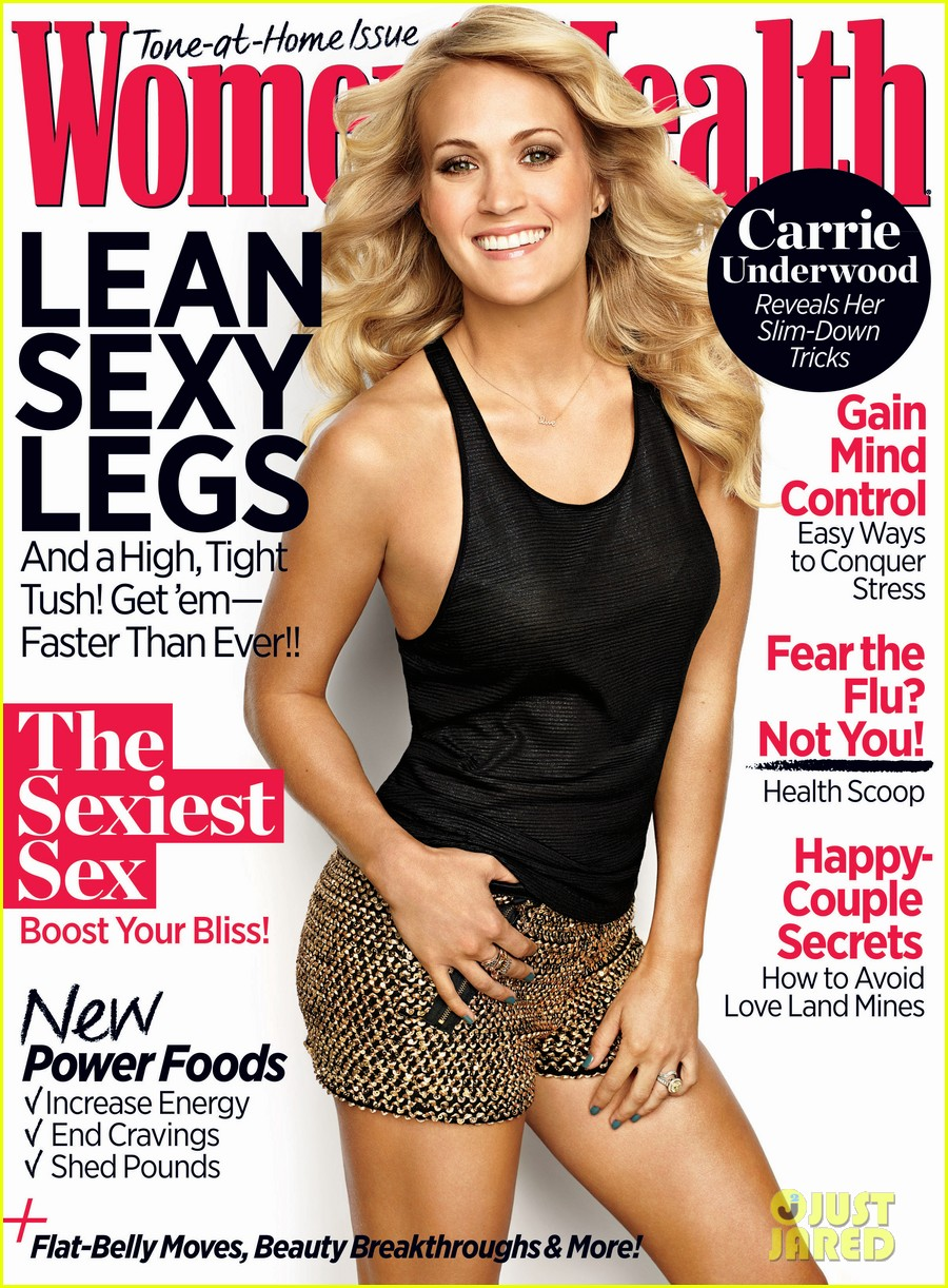 carrie underwood covers womens health november 2013 012970114