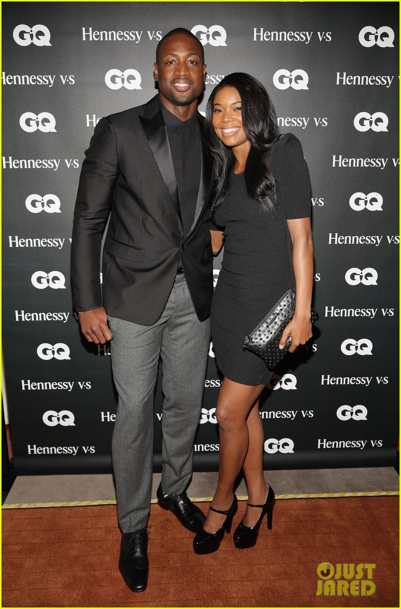 gabrielle union dwyane wade gq men book celebration 012971036