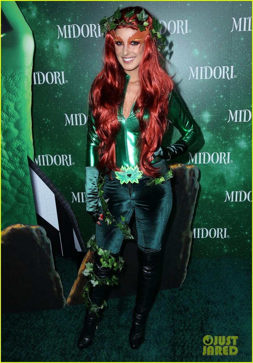 jenna ushkowitz christina milian midori green halloween 072982881