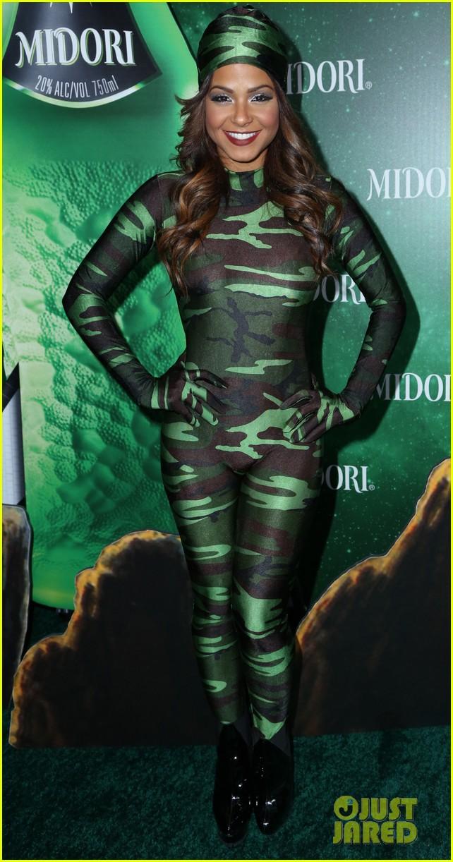 jenna ushkowitz christina milian midori green halloween 082982882
