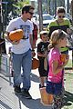 mark wahlberg mr bones pumpkin patch with family 11