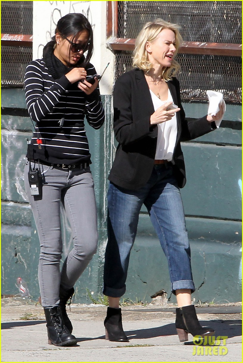 naomi watts bundles up for fall weather in new york city 09