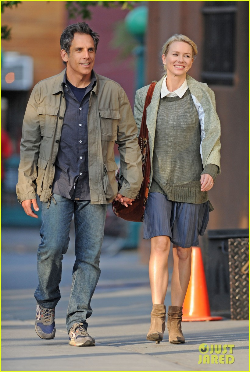 naomi watts ben stiller lovers on while we're young set 132965034