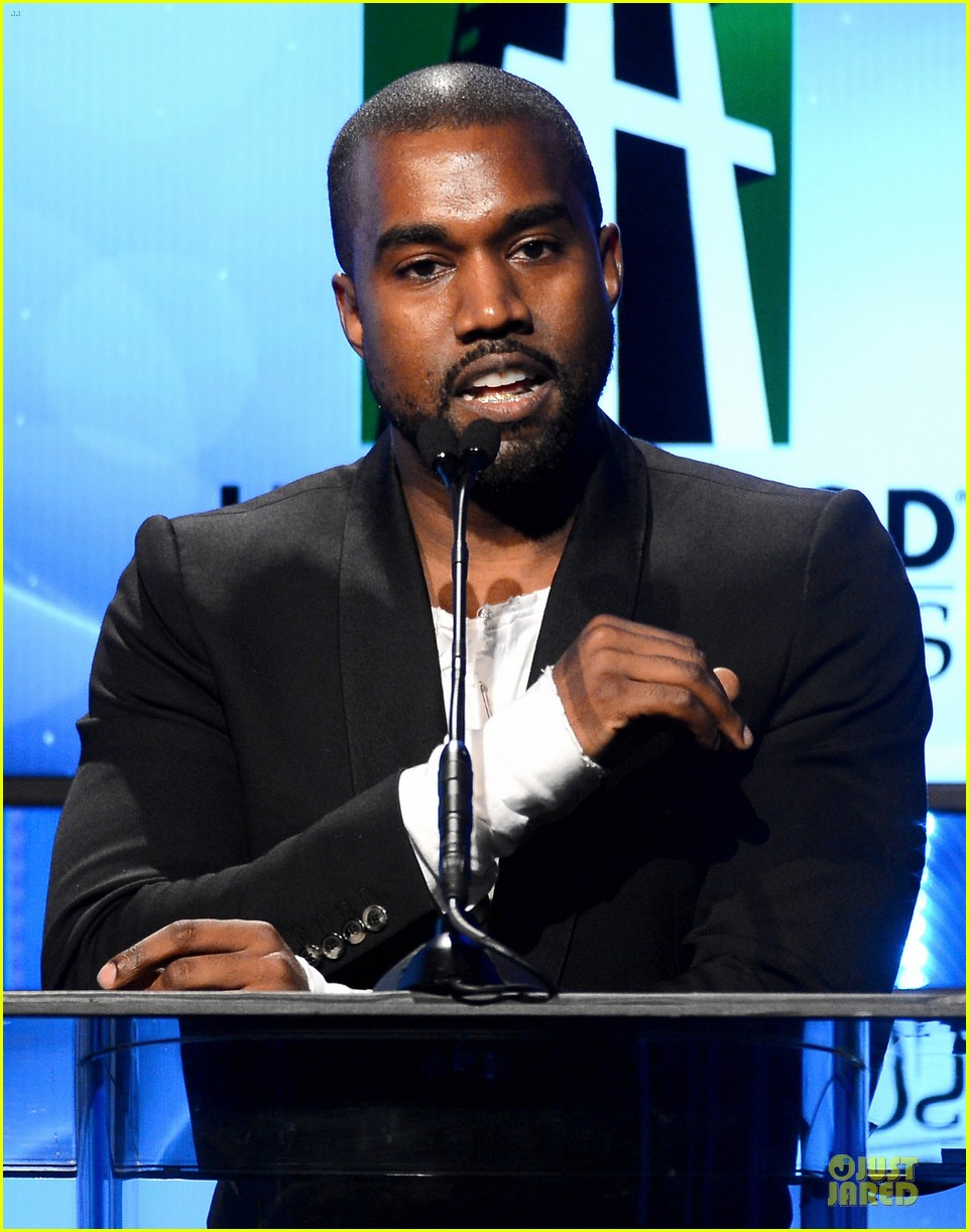 kanye west engagement glow at hollywood film awards 2013 022976848