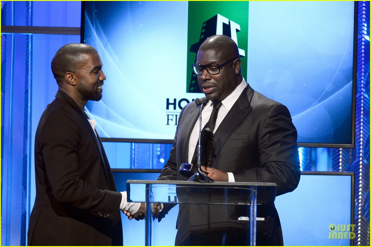 kanye west engagement glow at hollywood film awards 2013 032976849