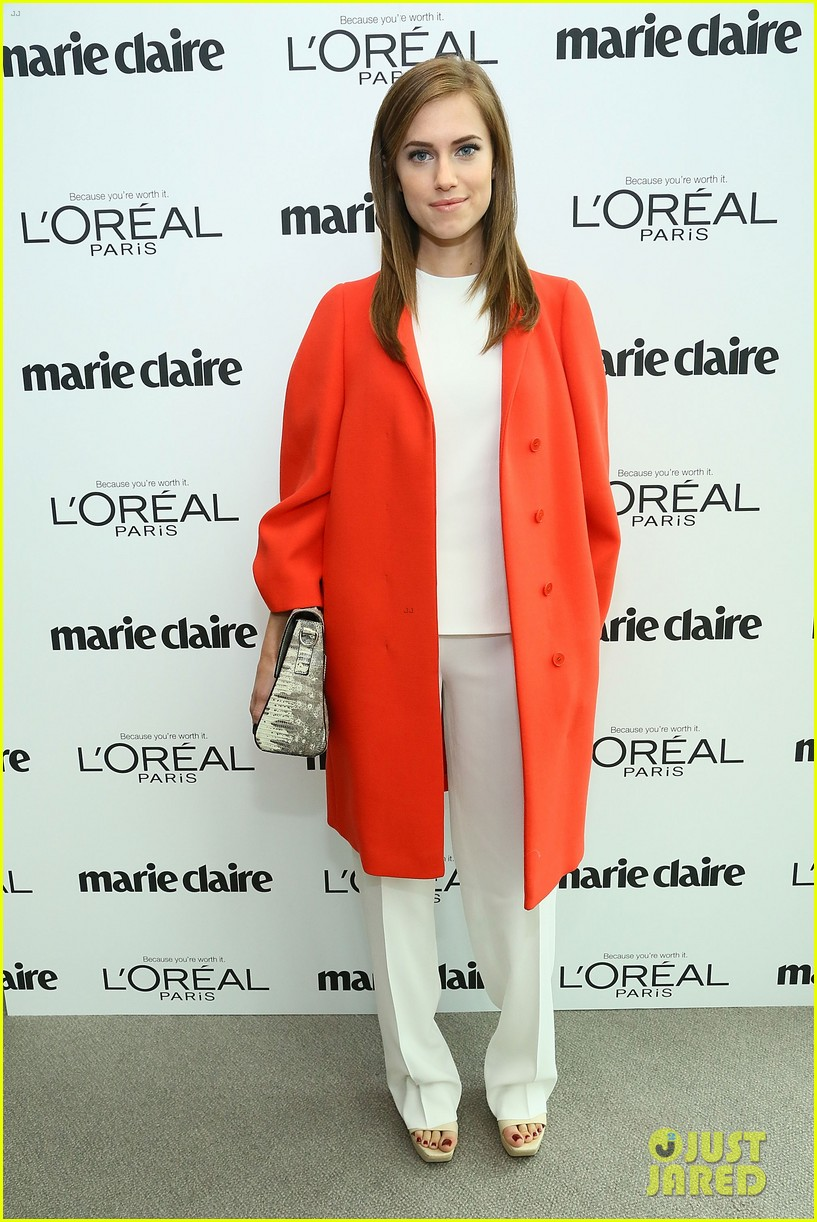 allison williams marie claire power women lunch 032983030