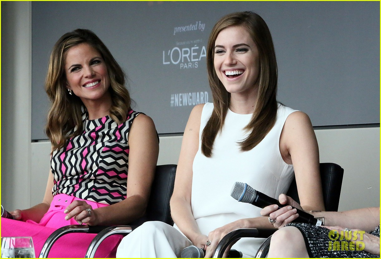 allison williams marie claire power women lunch 15