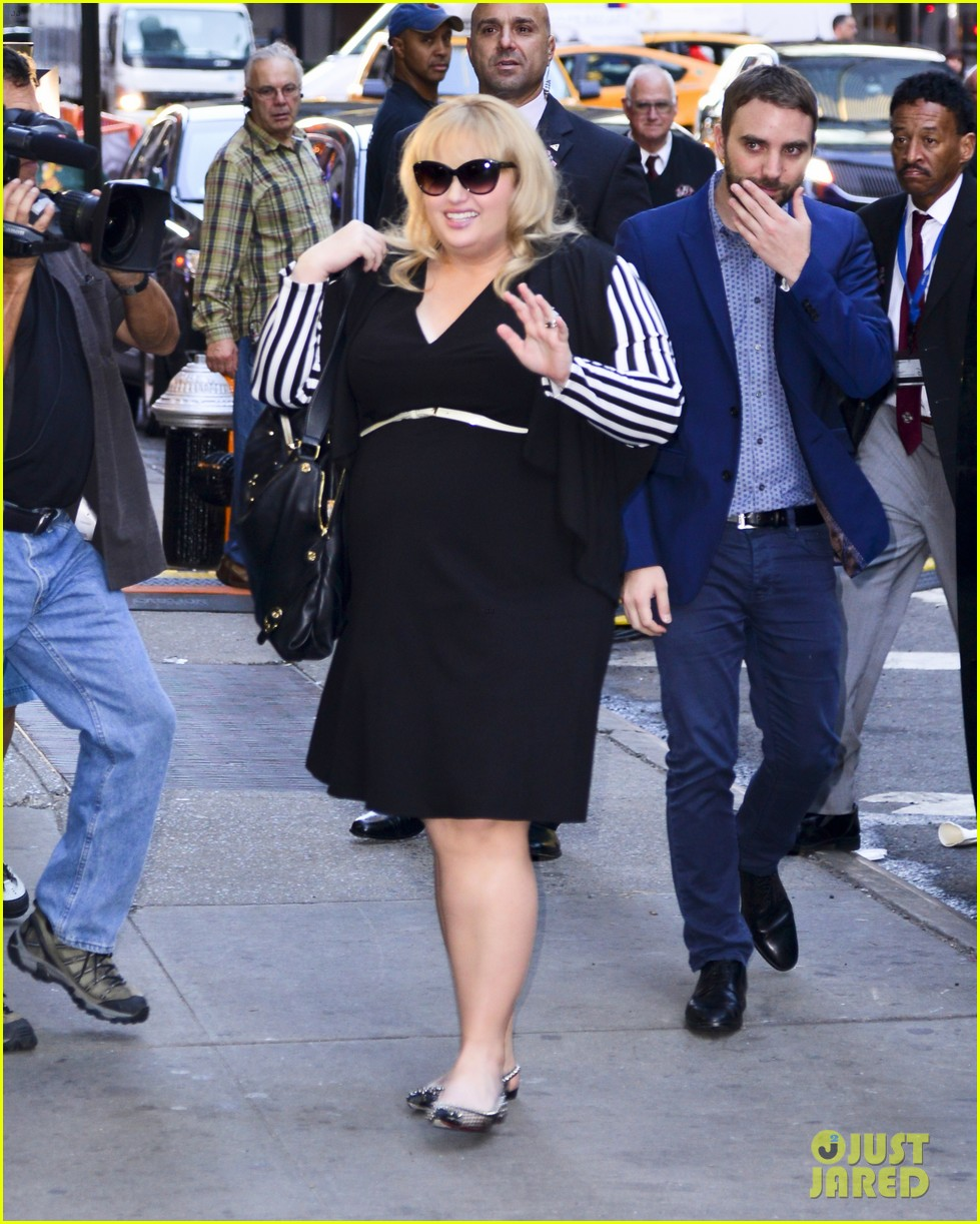 rebel wilson catches big fish other broadway shows 012964941