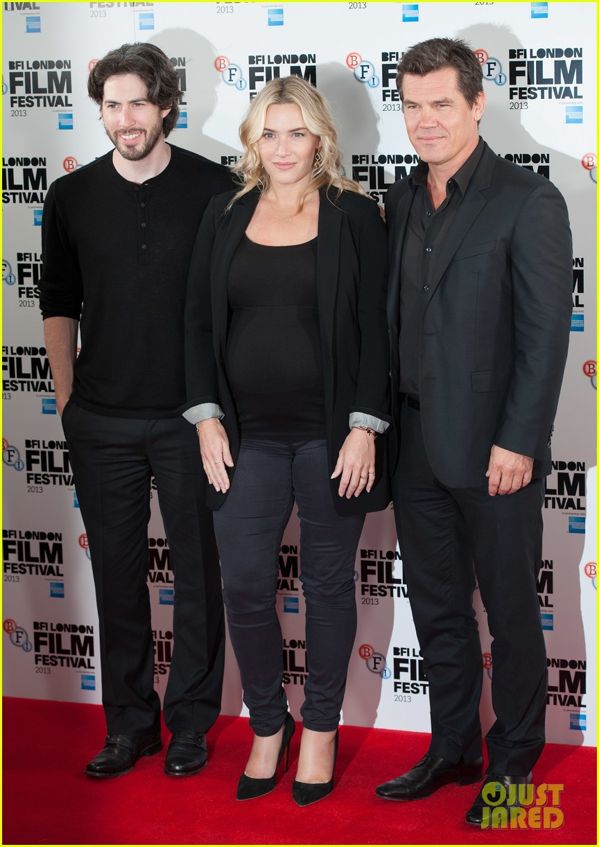 kate winslet josh brolin labor day bfi fest photo call 032971635