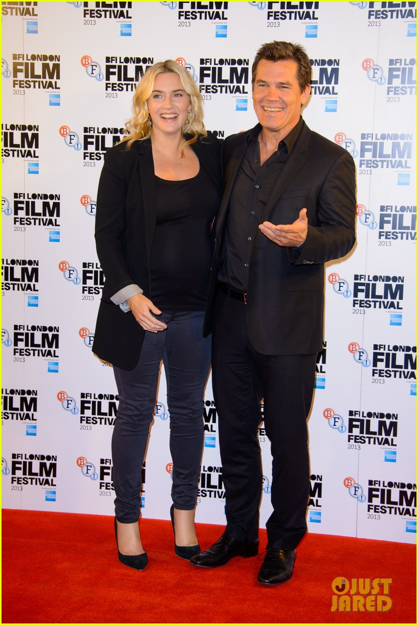 kate winslet josh brolin labor day bfi fest photo call 11