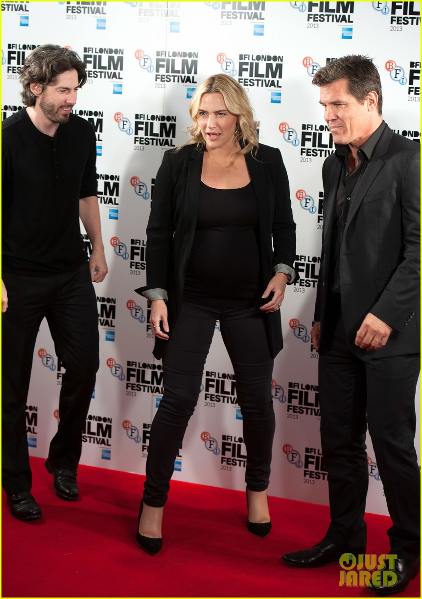kate winslet josh brolin labor day bfi fest photo call 152971647