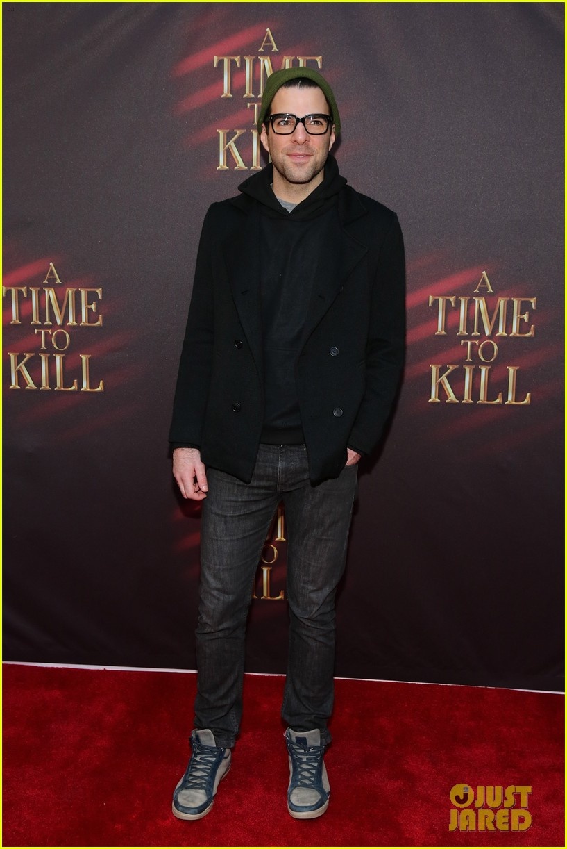 zachary quinto bobby cannavale a time to kill broadway opening 04